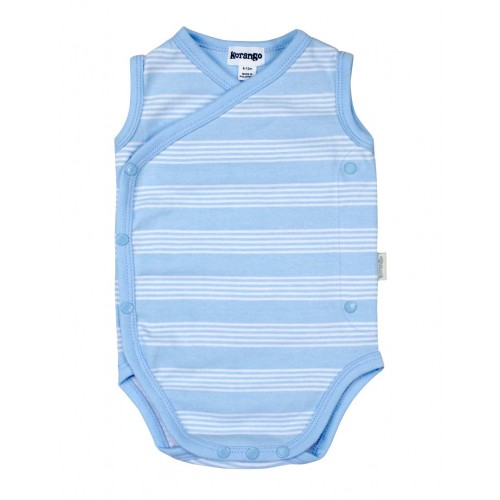 KORANGO - Baby Stripe Sleeveless Bodysuit