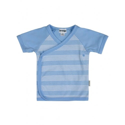 KORANGO - Baby Strip Top - Blue